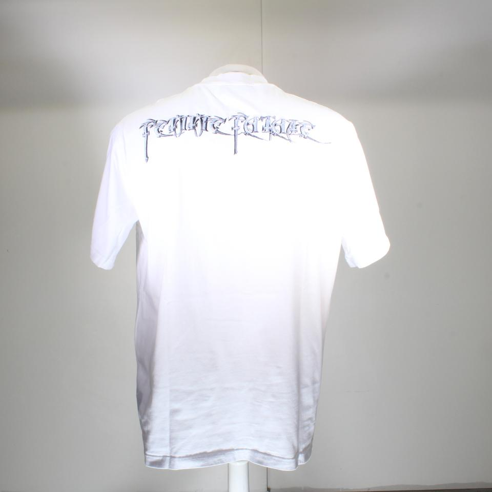 b9792c98adde Balenciaga White L Femme Fatale Embroidery Oversize Sold Out Tee ...