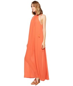 orange Maxi Dress by Show Me Your Mumu Maxi Sleeveless Chiffon Full Length