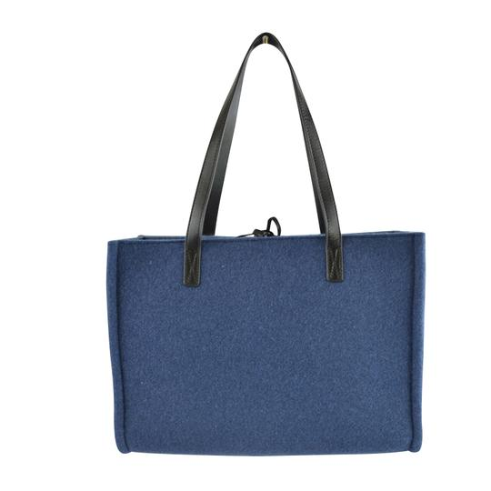 Kate Spade Leather Satchel in Rich Navy Image 3