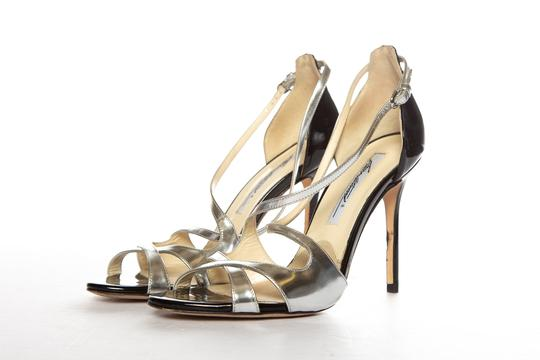 Brian Atwood Silver Sandals Image 2