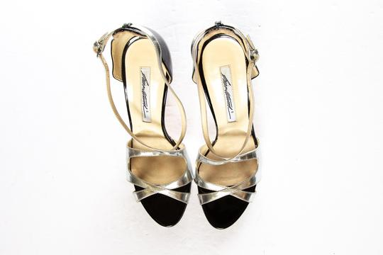Brian Atwood Silver Sandals Image 5