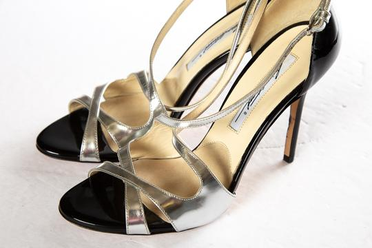 Brian Atwood Silver Sandals Image 7