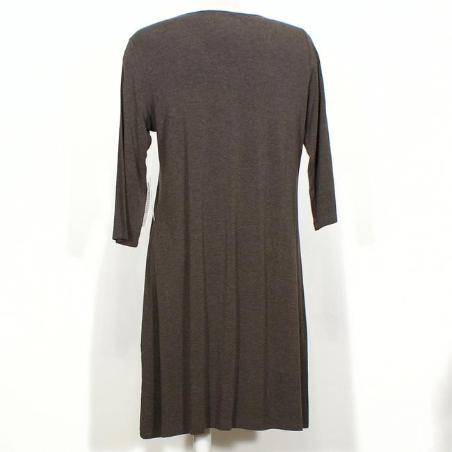 Eileen Fisher short dress Cobblestone Brown on Tradesy Image 1