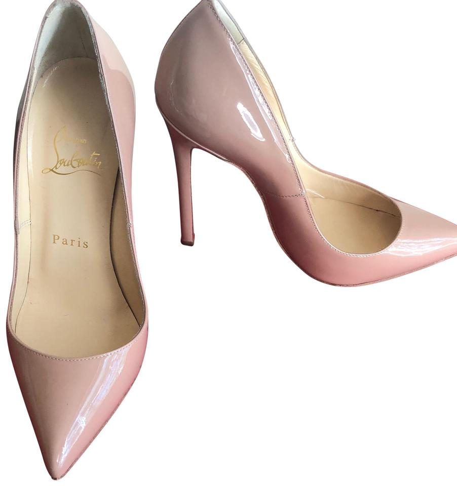 496b2c3c60 Christian Louboutin Nude Classic Pigalle 120mm Patent Leather Point-toe  Pumps