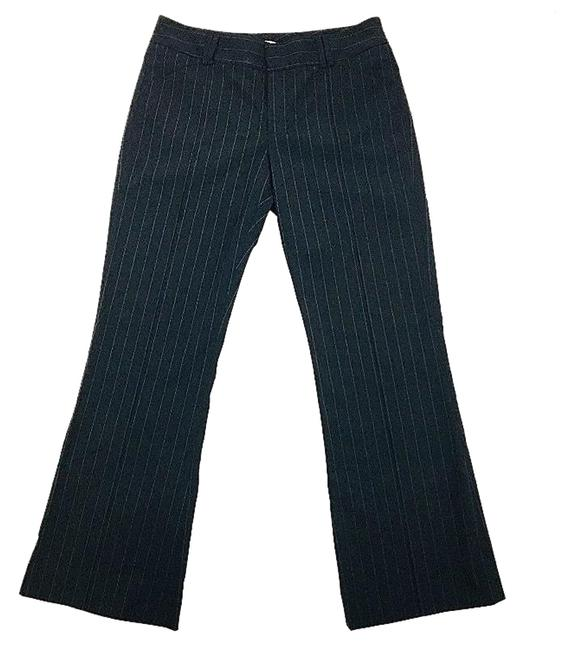 Item - Black Pin Striped Wool Blend Pants Size 8 (M, 29, 30)