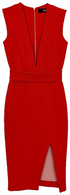 NICHOLAS Red Mid-length Night Out Dress Size 2 (XS) NICHOLAS Red Mid-length Night Out Dress Size 2 (XS) Image 1