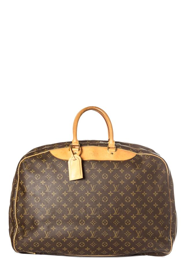 Louis Vuitton Alize Monogram 3 Poches Luggage Brown Coated Canvas ... 46a1ac84ef