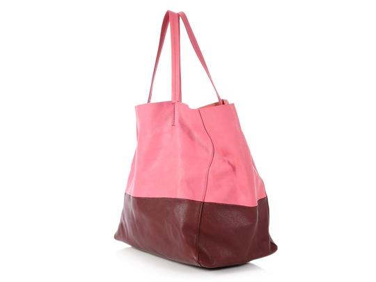 Céline Ce.p1121.11 Two-tone Gold Hardware Reduced Price Tote in Pink Image 2