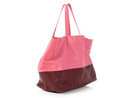 Céline Ce.p1121.11 Two-tone Gold Hardware Reduced Price Tote in Pink Image 4