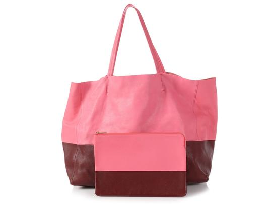 Céline Ce.p1121.11 Two-tone Gold Hardware Reduced Price Tote in Pink Image 7