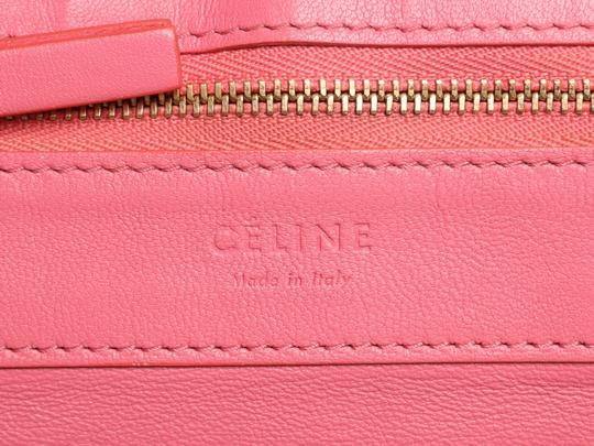 Céline Ce.p1121.11 Two-tone Gold Hardware Reduced Price Tote in Pink Image 9