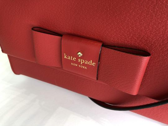 Kate Spade Leather Dusty Peony Set Handbag And Wallet Cross Body Bag Image 7