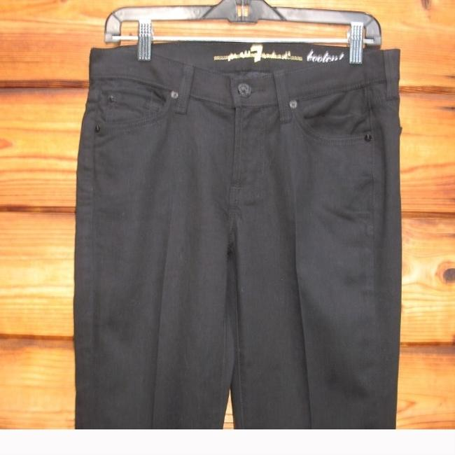 7 For All Mankind Boot Cut Jeans-Dark Rinse Image 3