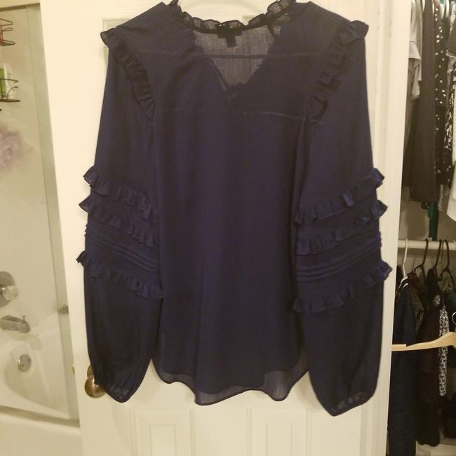 Ann Taylor Top Navy blue Image 1
