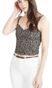 Abercrombie & Fitch Cropped Summer Top floral