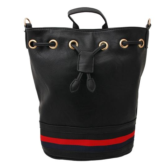 UNBRANDED BLACK/MULTI COLOR Beach Bag Image 1