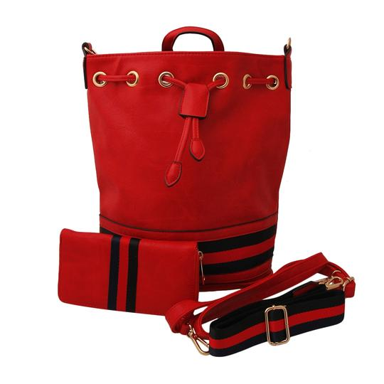 Preload https://img-static.tradesy.com/item/24550145/gucci-style-handbag-set-redmulti-color-faux-leather-backpack-0-0-540-540.jpg