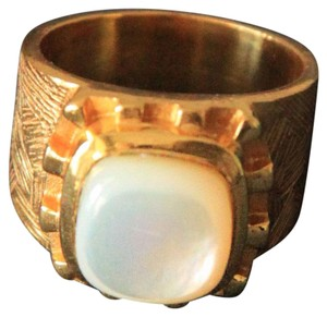 Julie Vos Julie Vos Bizantine Ring With Mother of Pearl