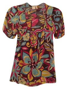 Sweet Pea by Stacy Frati Top Floral Multi
