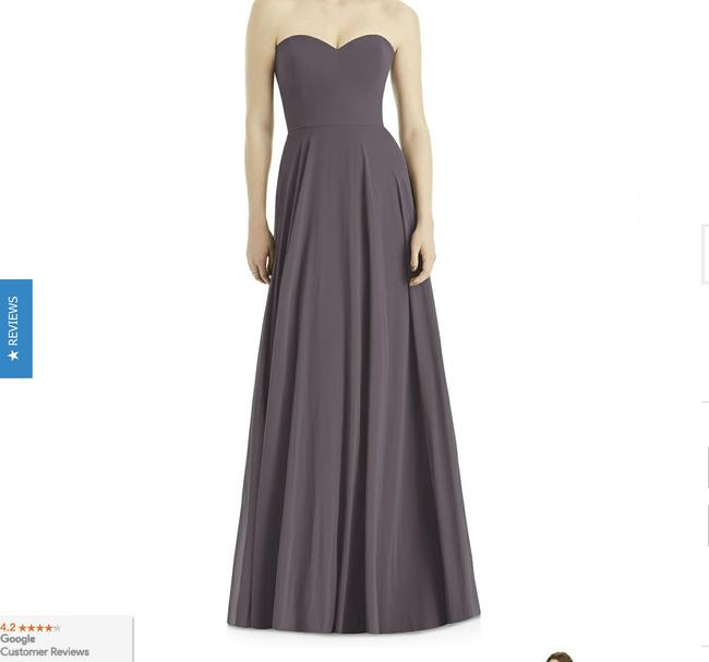 After Six Stormy Lux Chiffon Style 1504 Formal Bridesmaid/Mob Dress Size 8 (M) After Six Stormy Lux Chiffon Style 1504 Formal Bridesmaid/Mob Dress Size 8 (M) Image 1