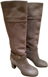 Tory Burch Taupe/Grey Boots
