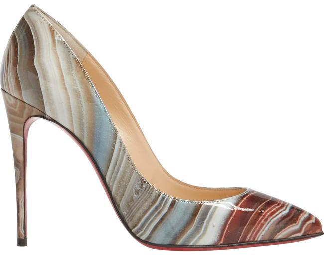 Christian Louboutin Galaxy Beige Pigalle Follies Pointy Toe Pumps Size EU 37 (Approx. US 7) Regular (M, B) Christian Louboutin Galaxy Beige Pigalle Follies Pointy Toe Pumps Size EU 37 (Approx. US 7) Regular (M, B) Image 1