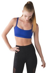 Lululemon Lululemon Straight Up Bra - Sapphire Blue