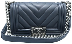 Chanel Calfskin Boy Small Shoulder Bag