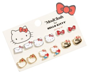 Sanrio ModCloth for Hello Kitty Iconic Accents Earring Set