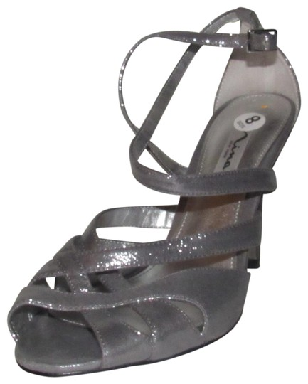 Preload https://img-static.tradesy.com/item/24551466/nina-silver-leather-straps-with-mesh-and-satin-nwob-shoes-new-pumps-size-us-8-regular-m-b-0-1-540-540.jpg