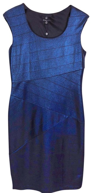 Item - Blue 126311 Mid-length Night Out Dress Size 8 (M)