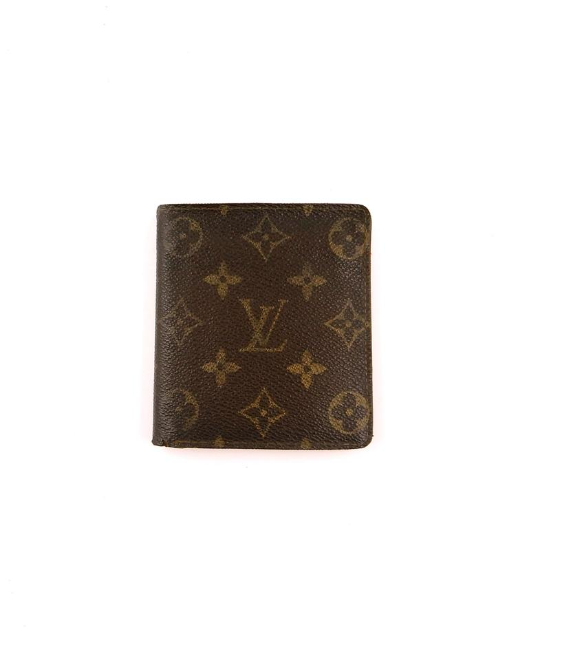 7fd10a19a7dc Louis Vuitton 10x Credit Card Monogram Canvas Leather Vintage Bifold Mens  Wallet Image 0 ...