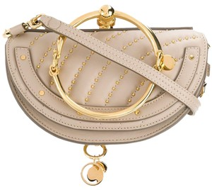 Chloé Minaudiere Bracelet Nile Quilted Studded Cross Body Bag