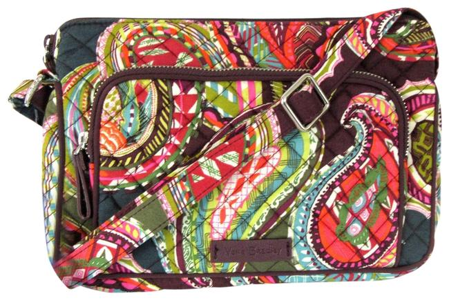 Vera Bradley Iconic Rfid Little Hipster In Heirloom Paisley Multicolor Cotton Cross Body Bag Vera Bradley Iconic Rfid Little Hipster In Heirloom Paisley Multicolor Cotton Cross Body Bag Image 1