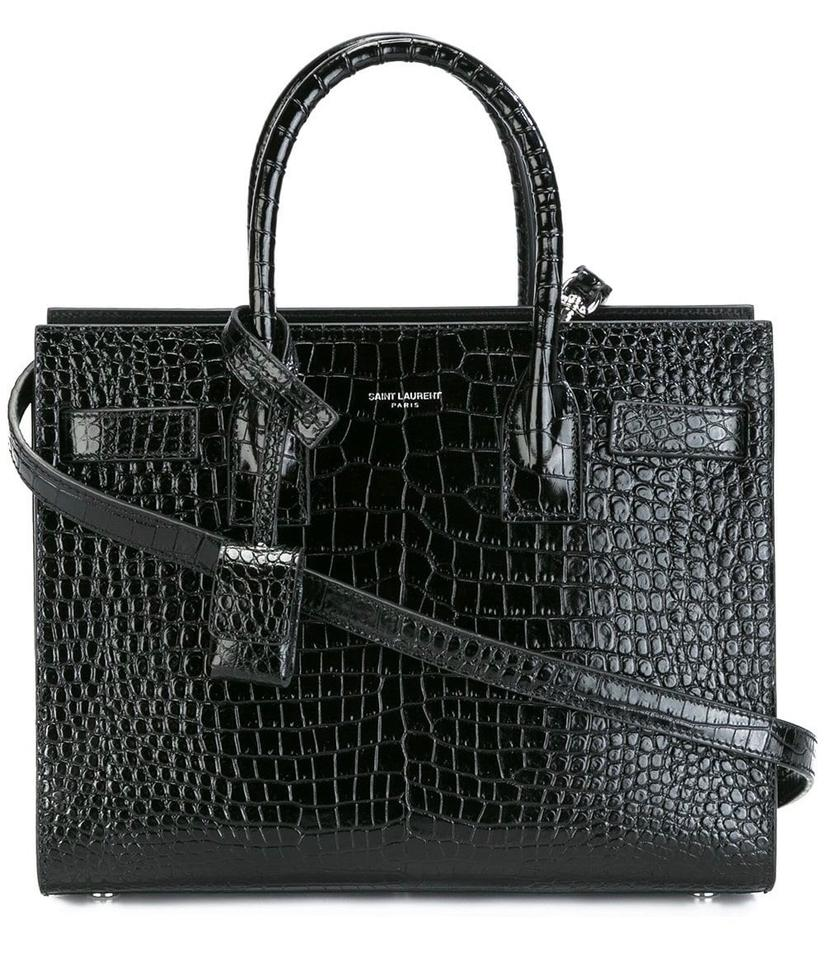 Saint Laurent Sac De Jour Classic Baby In Embossed