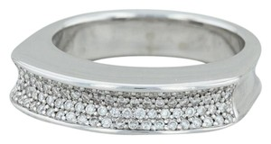 Movado Movado .20ctw Diamond Stackable Statement Ring - 18k Sz 6.75 Cocktail