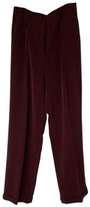Jones New York Trouser Pants Bordeaux