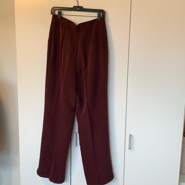Jones New York Trouser Pants Bordeaux Image 1