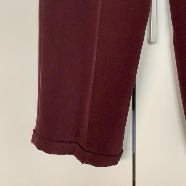 Jones New York Trouser Pants Bordeaux Image 2