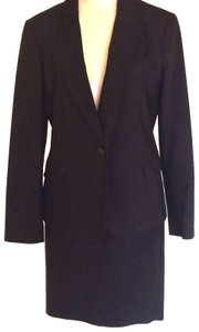 Zara Zara Collection 2 Piece Black Skirt Suit