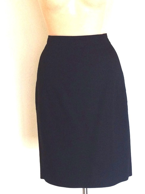 Zara Zara Collection 2 Piece Black Skirt Suit Image 1