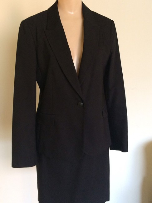 Zara Zara Collection 2 Piece Black Skirt Suit Image 2