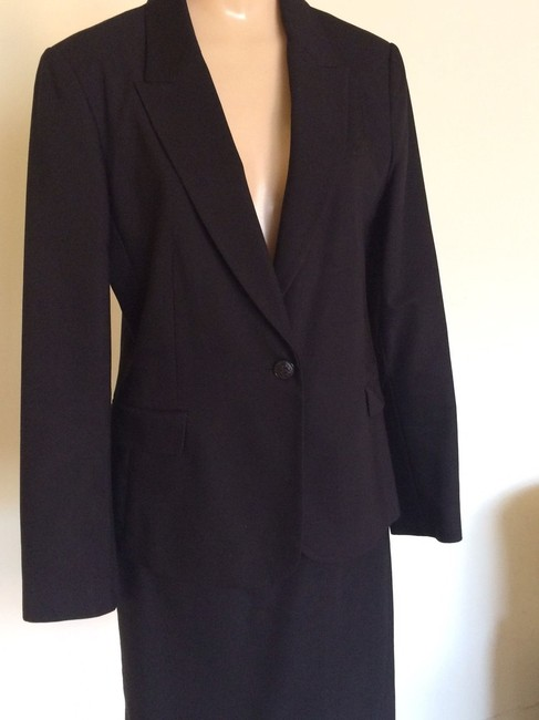 Zara Zara Collection 2 Piece Black Skirt Suit Image 4