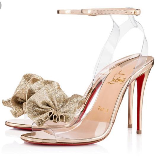Preload https://img-static.tradesy.com/item/24552677/christian-louboutin-gold-fossiliza-pvc-metallic-stiletto-pumps-size-eu-39-approx-us-9-regular-m-b-0-0-540-540.jpg
