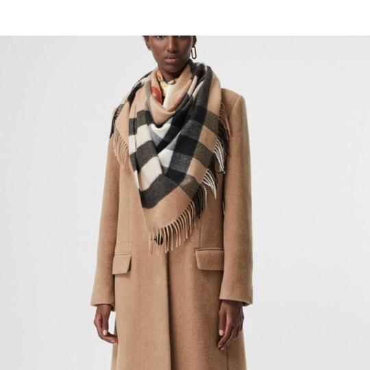 Burberry Burberry Bandana in Check Cashmere Image 6