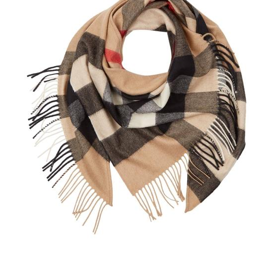 Burberry Burberry Bandana in Check Cashmere Image 7