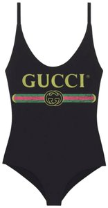 Gucci Gucci Sparkling swimsuit with Gucci logo