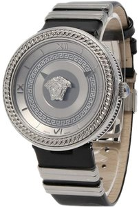 Versace Authentic New Versace Vanity VLC01 0014 Steel Quartz 40MM Watch