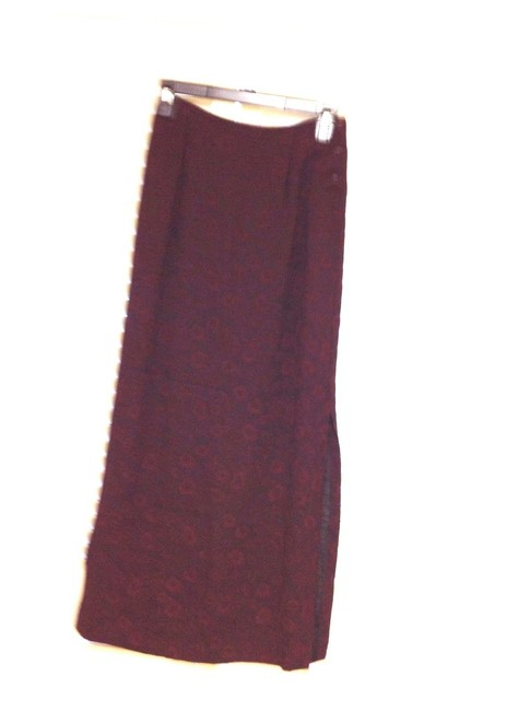 Johnny Was Collection Asian Mandarin Wine Red Black Image 3