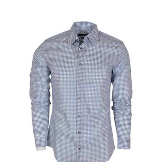 Preload https://img-static.tradesy.com/item/24552984/gucci-blue-sapphire-soft-vichy-men-blouse-size-10-m-0-0-650-650.jpg